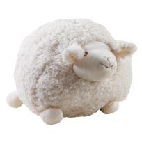 AUBRY GASPARD - Mouton en laine blanc Shaggy Grand modèle