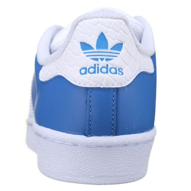 Adidas Basket Superstar S75881 Bleu pas cher Achat