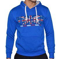Ymcmb - Sweat à Capuche - Homme - Hs8011 Angleterre Rich Gang - Bleu Royal
