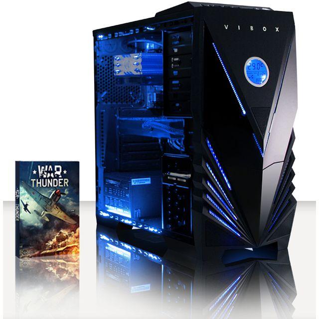 VIBOX Processeur CPU Quad Core Intel i5 - Carte Graphique Nvidia GTX 1060 3Go - 8 Go RAM - 1 To + SSD 120 Go - Pas de Windows
