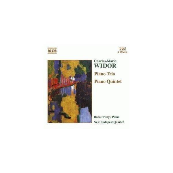 Naxos - Widor - Trio et quintette avec piano