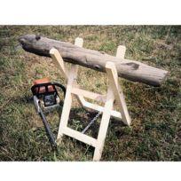 Provence Outillage - Chevalet à bûche en bois