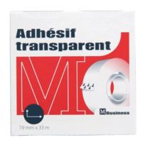 Majuscule Business - Rouleau adhesif transparent 19x33 business