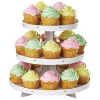 Wilton - Grand présentoir à cupcakes carton blanc