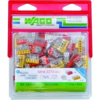 Wago - Pack 100 Bornes 2273/2-3-5 Entrees Wag2273/PAN100
