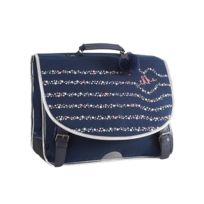 Ikks - Cartable 38 cm Oh My Captain ! Bleu