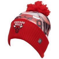 Adidas - Bonnet à pompon Chicago bulls bonnet Rouge 32626