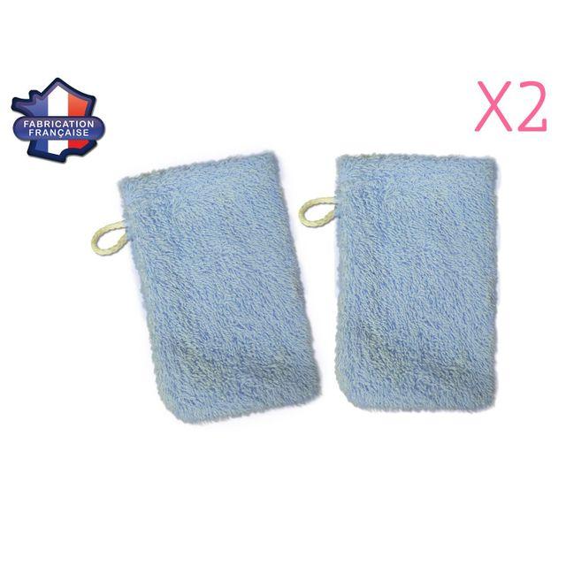Modulit - Lot de 2 petits gants de toilette d apprentissage pour bébé enfant 40e2643a82d
