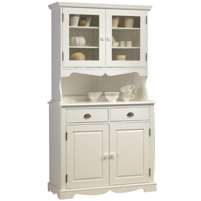 buffet meuble blanc. Black Bedroom Furniture Sets. Home Design Ideas