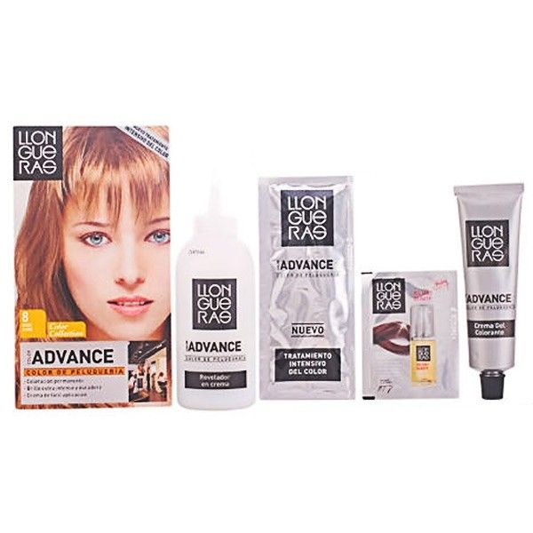 No Name Llongueras - Llongueras Color Advance hair colour 8,1-light blond cender