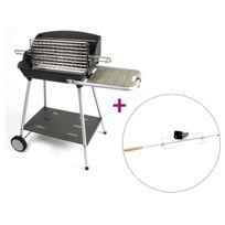 SOMAGIC - Barbecue vertical Excel Grill + Tournebroche
