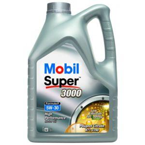 mobil huile moteur super 3000 formula p 5w30 bidon de 5 l achat vente huiles moteurs pas. Black Bedroom Furniture Sets. Home Design Ideas