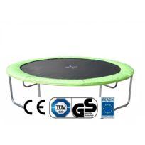 Empasa - Coussin de protection pour trampoline Vert Ø457cm
