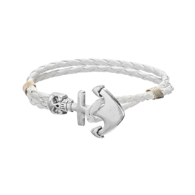 Ancre bracelet homme
