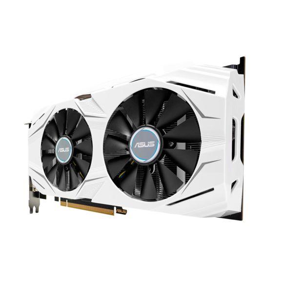 ASUS GeForce DUAL-GTX1060-O6G Équipée de technologies performantes et innovantes, la carte graphique GeForce GTX 1060 est le choix idéal pour jouer en haute définition. Accélérée par NVIDIA Pascal™, l