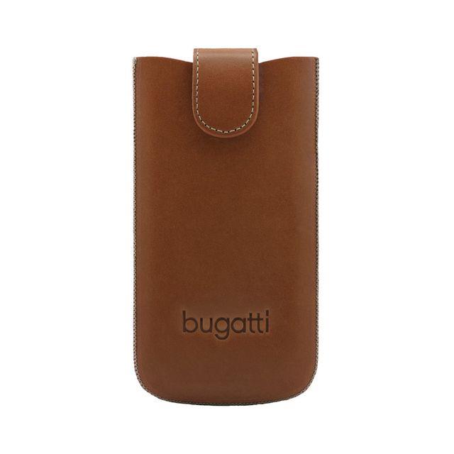 Bugatti Italy - Bugatti Etui cuir bugatti Slimcase York Universel marron e41313a8194