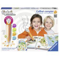 RAVENSBURGER - Tiptoi® - Coffret complet lecteur interactif + Livre Atlas - 00782
