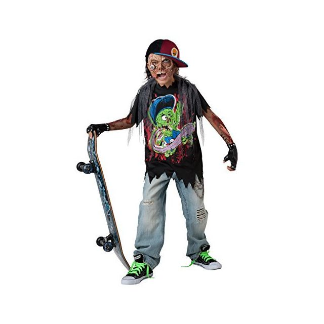 Fun World InCharacter Costumes Zombie Sk8r Costume Size 6/Small