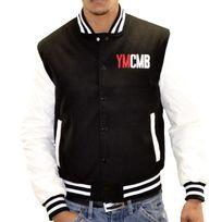 Ymcmb - En Solde Veste Teddy - Homme - Ve2220 - Noir Blanc