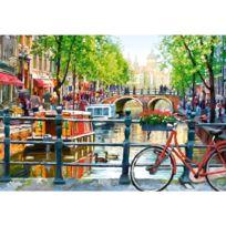 Castorland - Puzzle 1000 pièces : Paysage d'Amsterdam