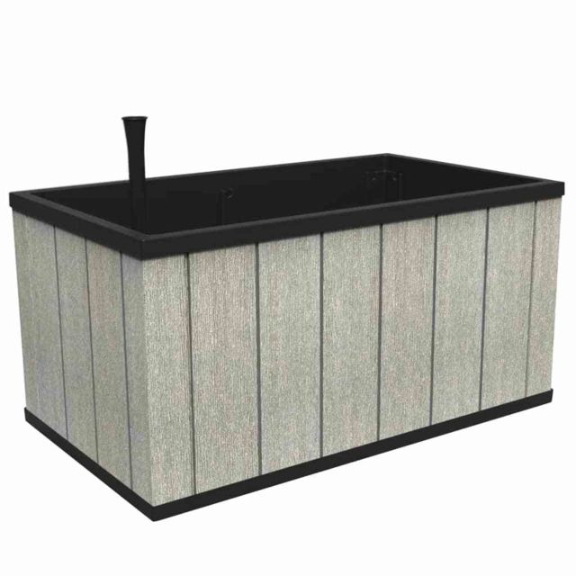 Keter Jardinière Sequoia Taille moyenne Gris Pp 240929