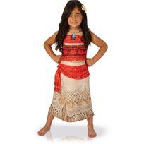 Rubies - Déguisement Luxe Vaiana Disney - Enfant - Taille : 5-6 ans 105-116 cm