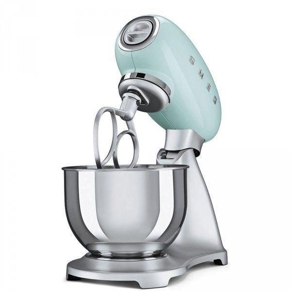 Smeg Robot de Cuisine 4.8 Litres Années 50 - 800W Vert Smf01PGEU