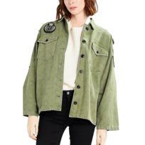 Veste militaire femme pas cher