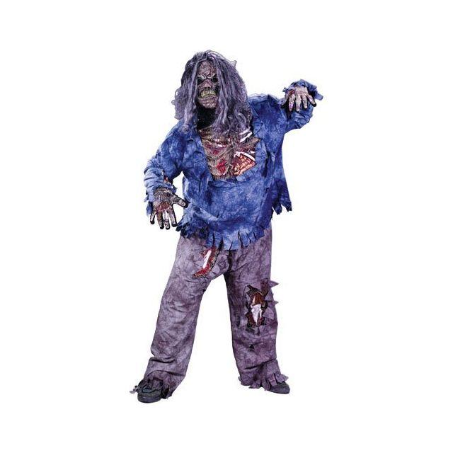 Fun World Complete Zombie Costume Large 12-14 Multicolor