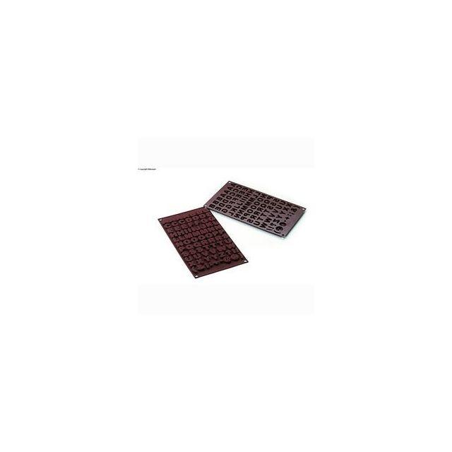 Silikomart Moule à chocolats lettres Abc