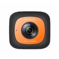 Qimmiq - Caméra 360° Double Lentille Vr360 Orange