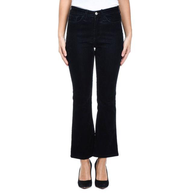 Roy Roger'S Femme Rnd109T4920021109DENIM Noir Coton Pantalon