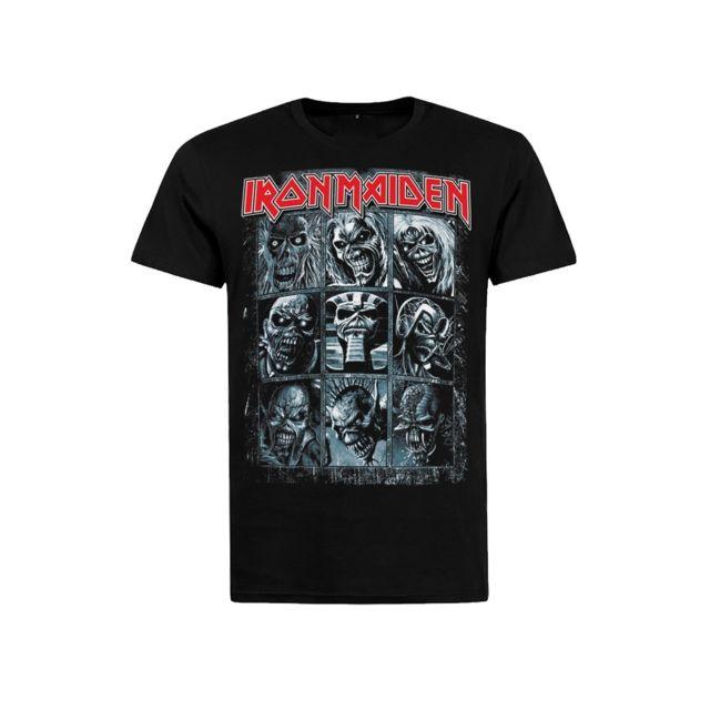 Magiccustom - Rock Vintage - T-shirt Iron