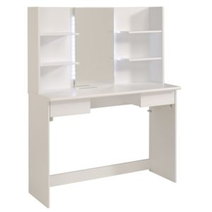 last meubles coiffeuse elegance blanc pas cher achat vente commode rueducommerce. Black Bedroom Furniture Sets. Home Design Ideas