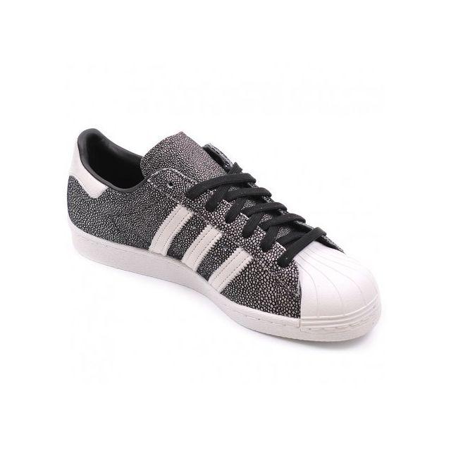 Adidas originals Chaussures Superstar 80'S Noir Homme
