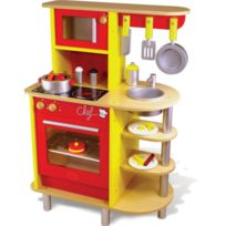 Vilac - Cuisinière en bois - La cuisine du Chef