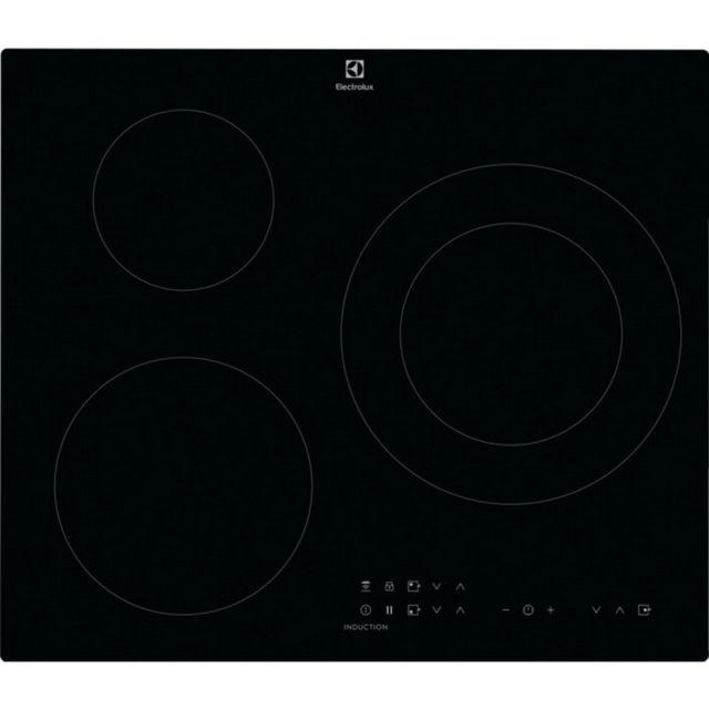 ELECTROLUX table de cuisson à induction 60cm 3 feux 7350w noir - cit60336ck