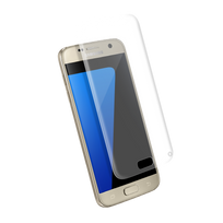 FORCE GLASS - Protège écran en verre trempé transparent pour Galaxy S7 Edge