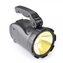 Objets du Mois - Lampe torche - projecteur portable rechargeable à alimentation solaire
