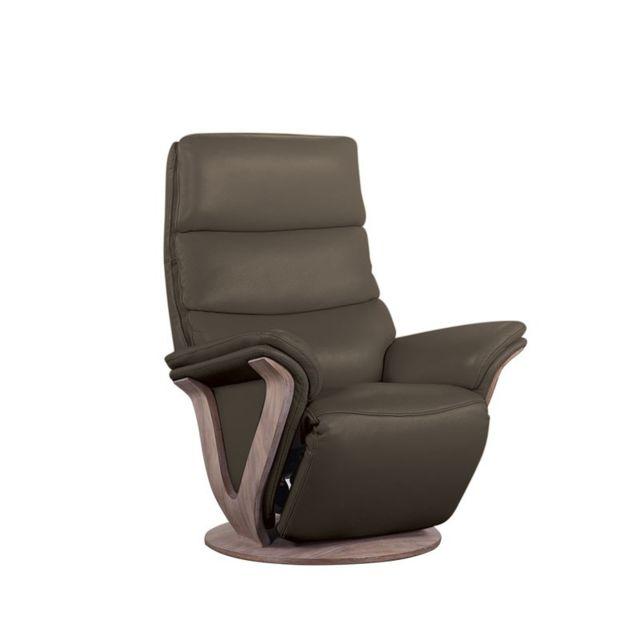 fauteuil cuir chocolat. Black Bedroom Furniture Sets. Home Design Ideas