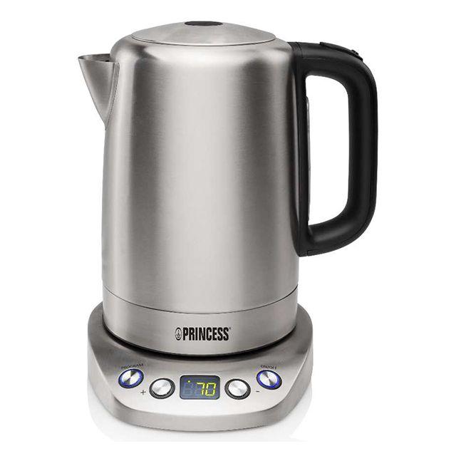 PRINCESS bouilloire sans fil 1.7l 2000w température réglable - 236002-01-001