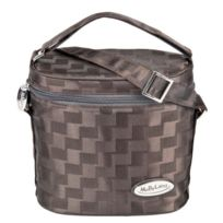 MaByLand - Luxury Insulated Double Bottle Bag BROWN
