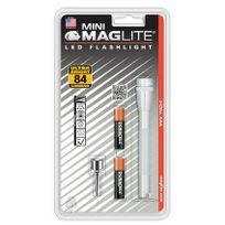 MagLite - Super Mini 2AAA/R3 Led argent blister