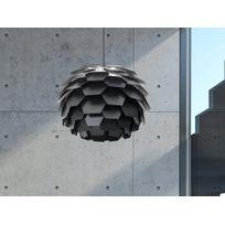 Beliani - Lampe de plafond - suspension - plafonnier - luminaire noir - Segre Maxi