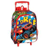 Blaze - Sac à dos à roulettes maternelle Limit 37 Cm trolley - Cartable