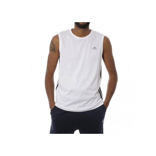 Adidas originals Ess 3s Sl Homme Débardeur Blanc Adidas
