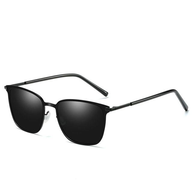 Soleil Hommes Avec Noir Cadre De Uv400 Polarisées Pour Lunettes 3jLR54A