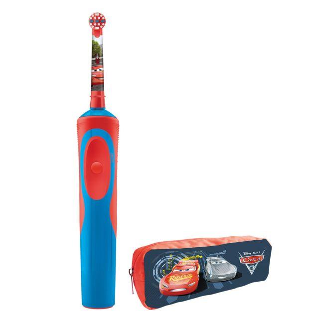 ORAL-B Brosse à dents électrique - 7600 rotations/min - Rouge/Bleu