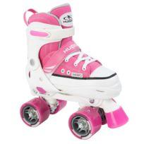 Hudora - Roller Skate - Patins à Roulettes - Rose - Taille 36-39