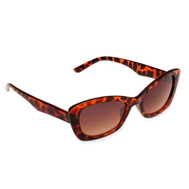 Lamodeuse - Lunettes de soleil Essential Papillon Marron - pas cher ... 0df2c87f5e32